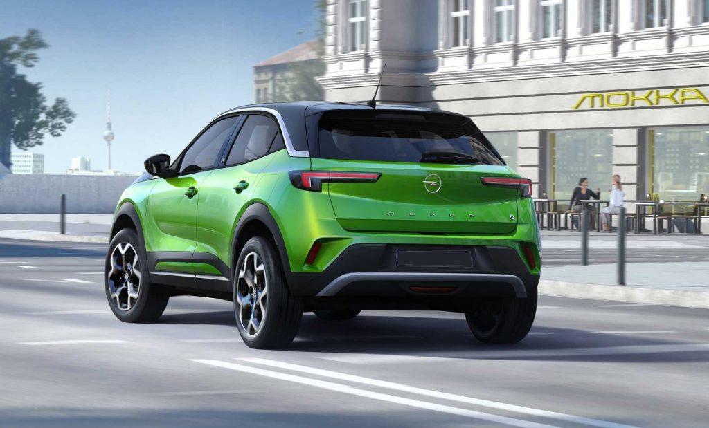 Opel Mokka 2020, вид сзади