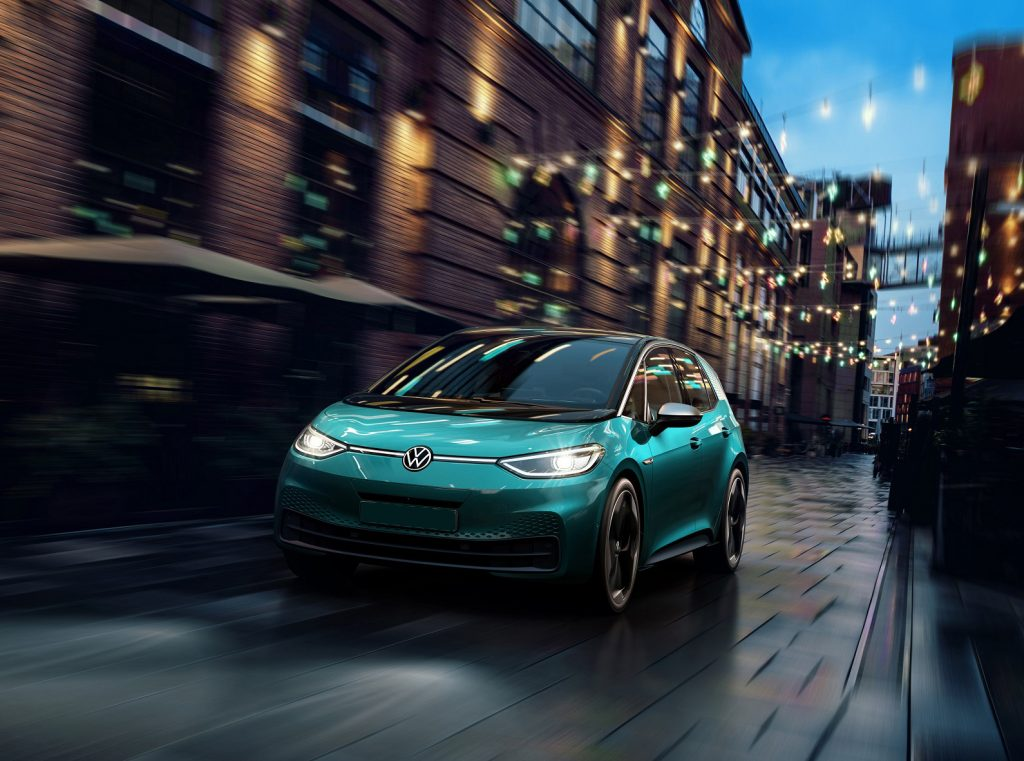 Volkswagen ID.3 2020, вид спереди