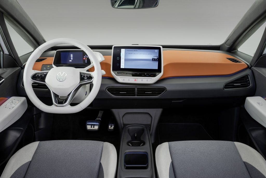 Volkswagen ID.3 2020, передняя панель