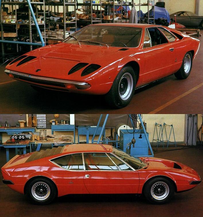 концепт-кары Lamborghini Urraco 1970 года