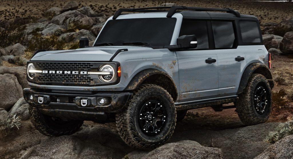 Ford Bronco 2020, вид спереди