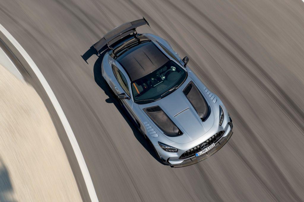 Mercedes-AMG GT R Black Series, вид сверху