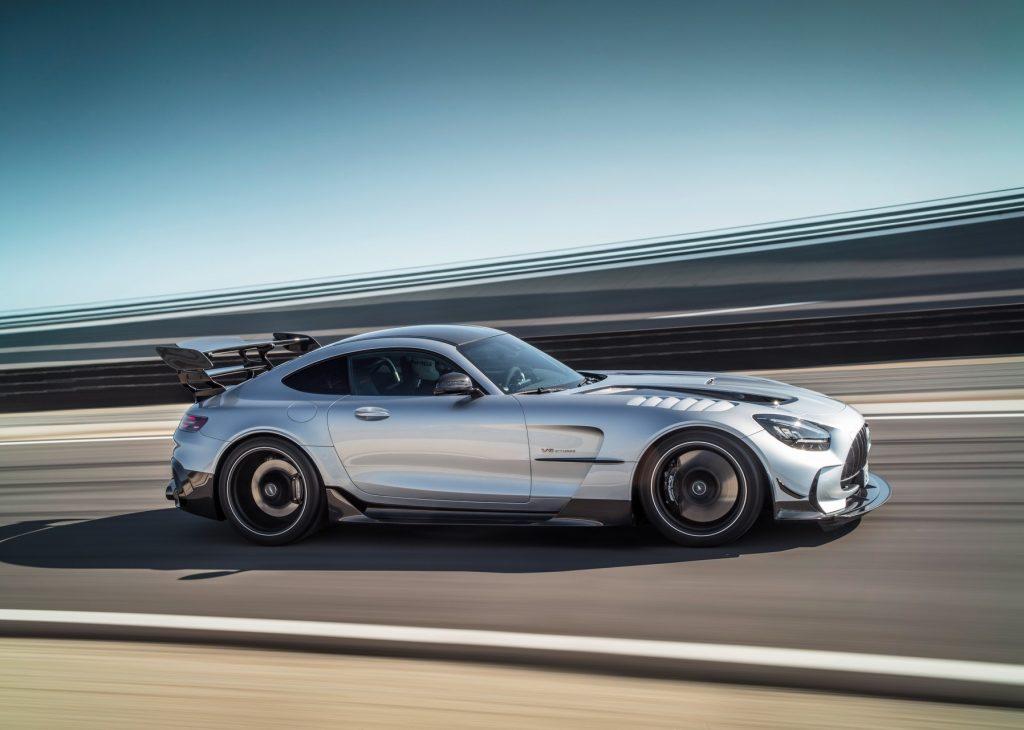 Mercedes-AMG GT R Black Series, вид сбоку