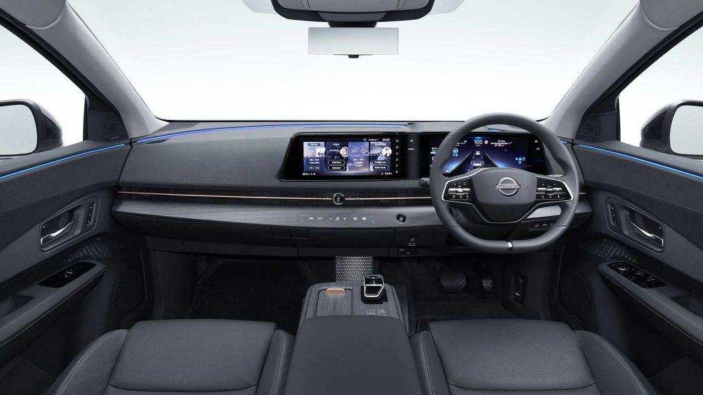 Nissan Ariya 2020, передняя панель