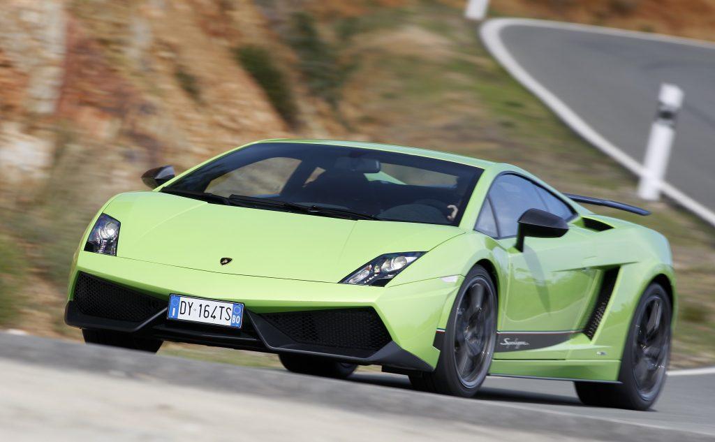 Lamborghini Gallardo Superleggera 2010 года