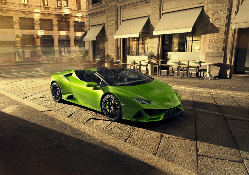 Lamborghini Huracan Evo Spyder 2019 года