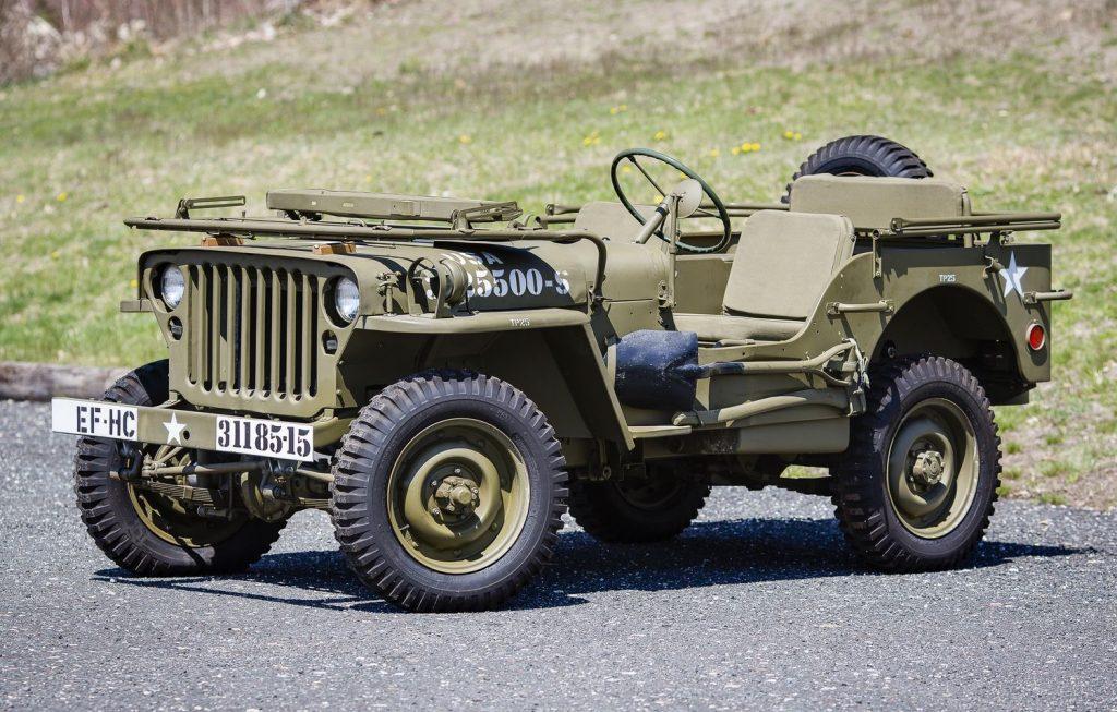 Всего выпустили 645 тыс. Willys для армии