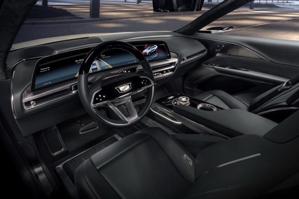Cadillac Lyriq 2020, салон