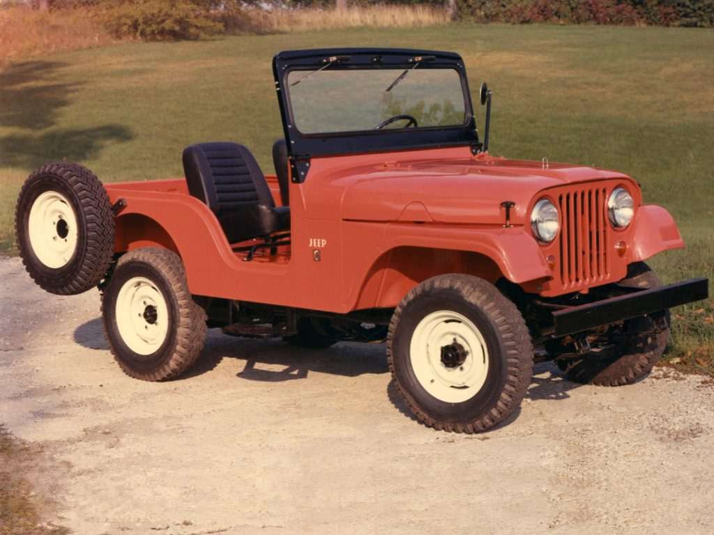 Jeep CJ-5 1955 года