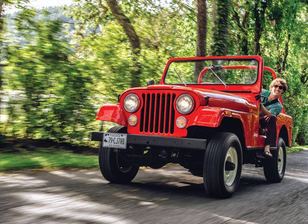 Jeep CJ-7 1979 года