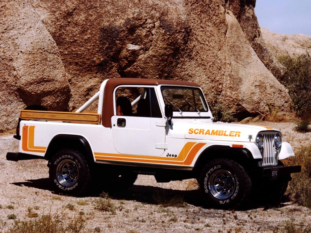 Jeep CJ-8 Scrambler 1981 года