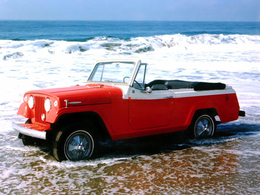 Jeep Jeepster Commando 1967 года