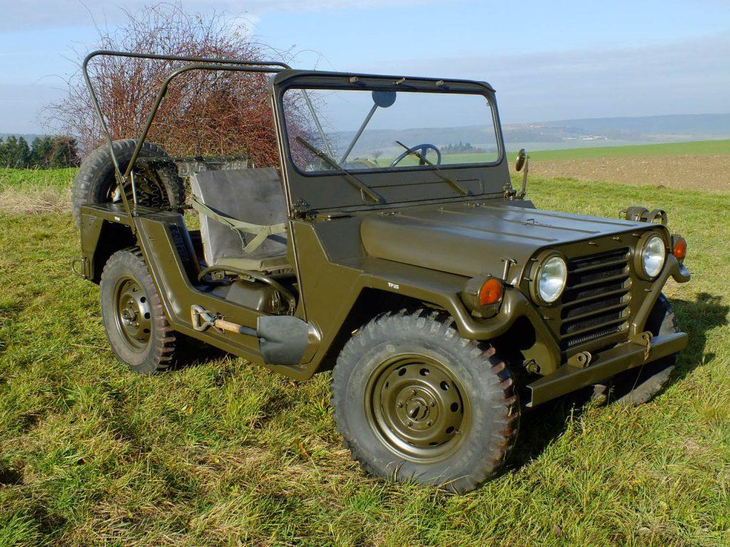 Jeep M151 1962 года