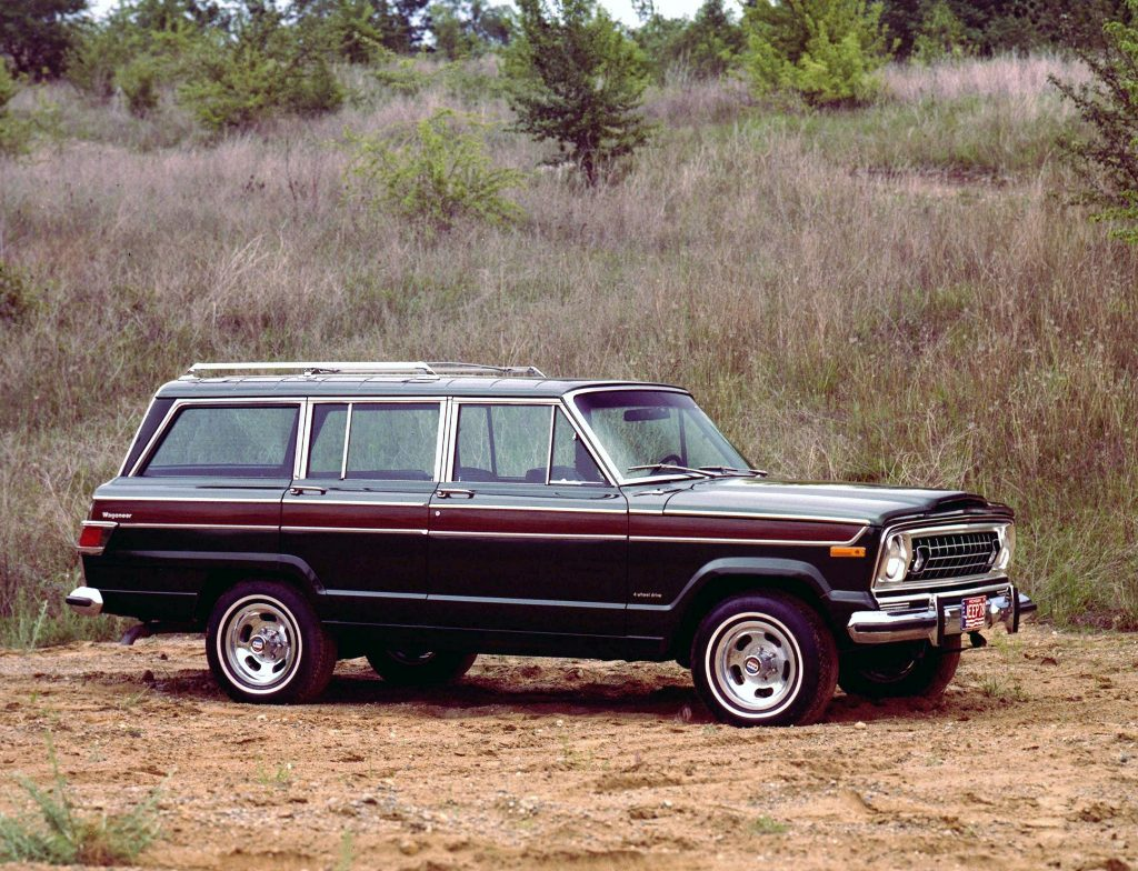 Jeep Wagoneer 1978 года