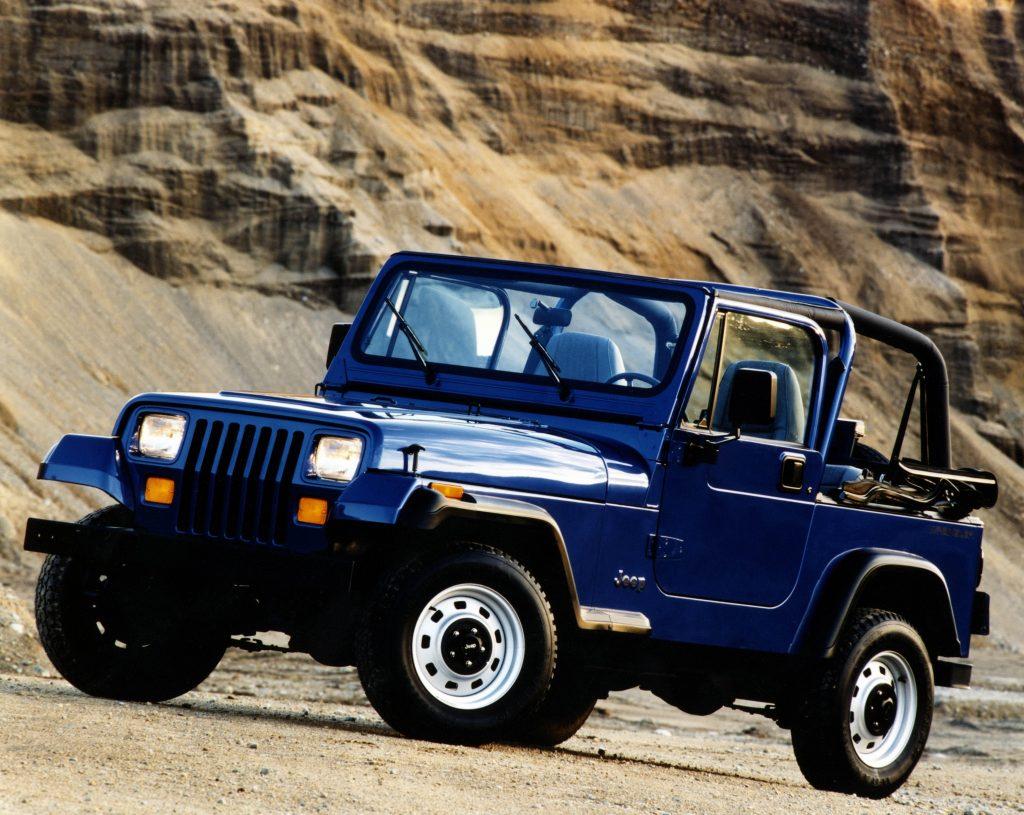 Jeep Wrangler 1987 года
