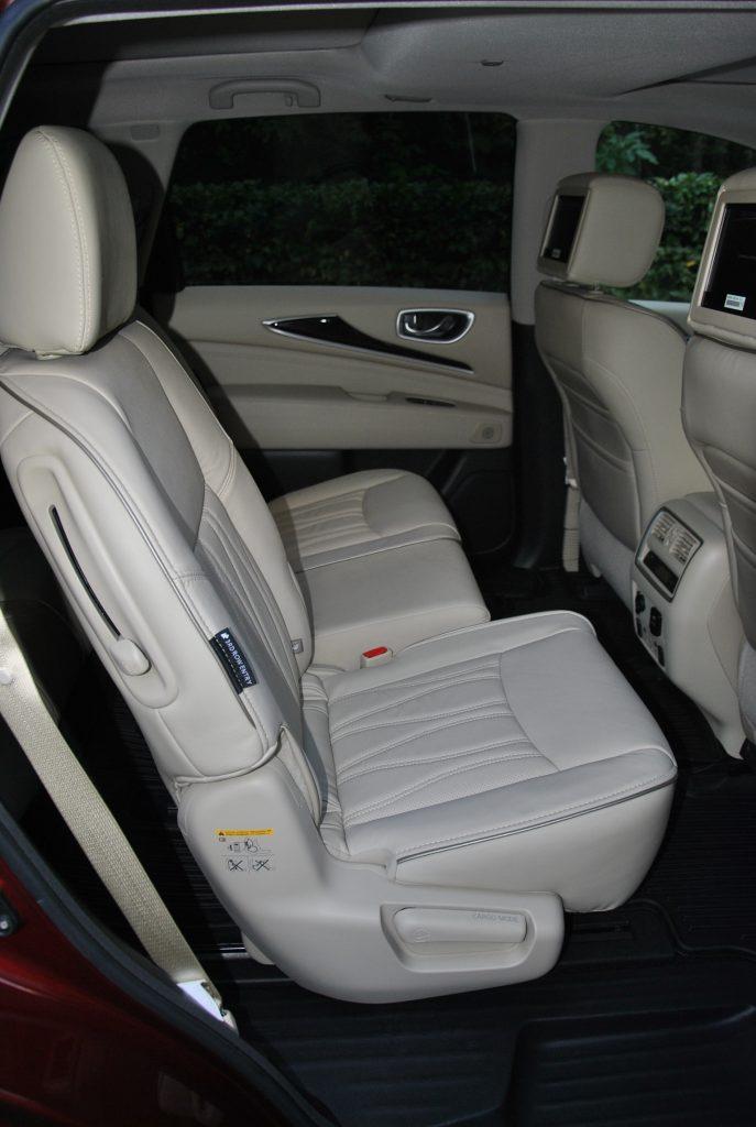Infiniti QX60, задние сиденья
