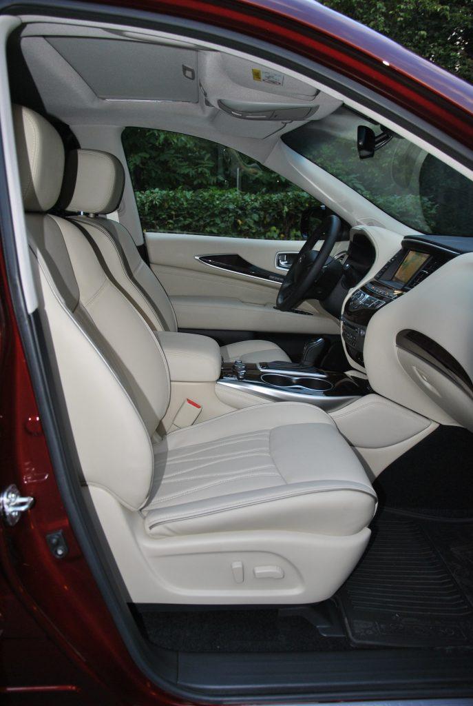 Infiniti QX60, передние сиденья