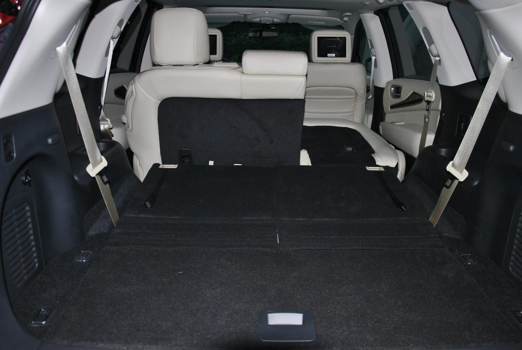 Infiniti QX60 2020, багажник