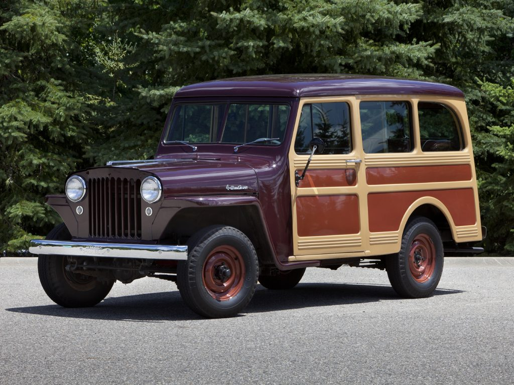 Willys Jeep Station Wagon 1949 года