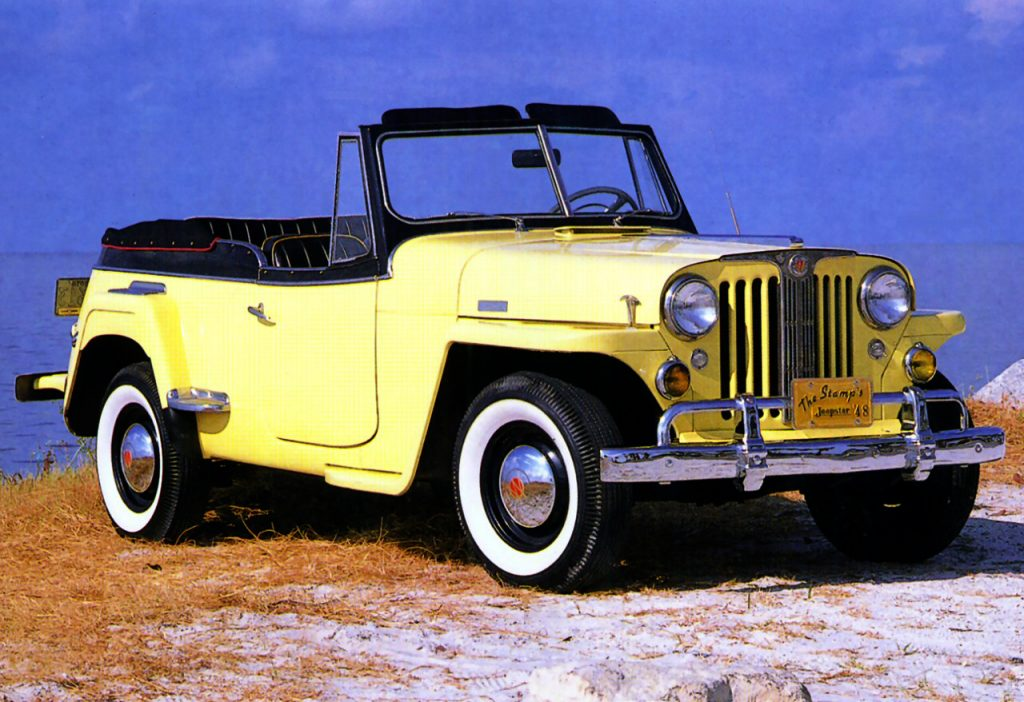 Willys Jeepster 1948 года