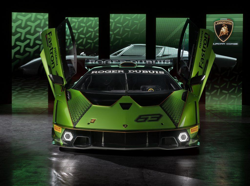 Lamborghini Essenza SCV12, вид спереди