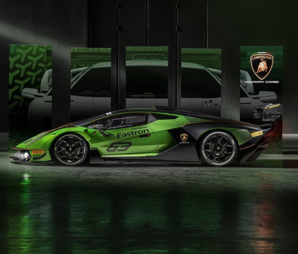Lamborghini Essenza SCV12, вид сбоку