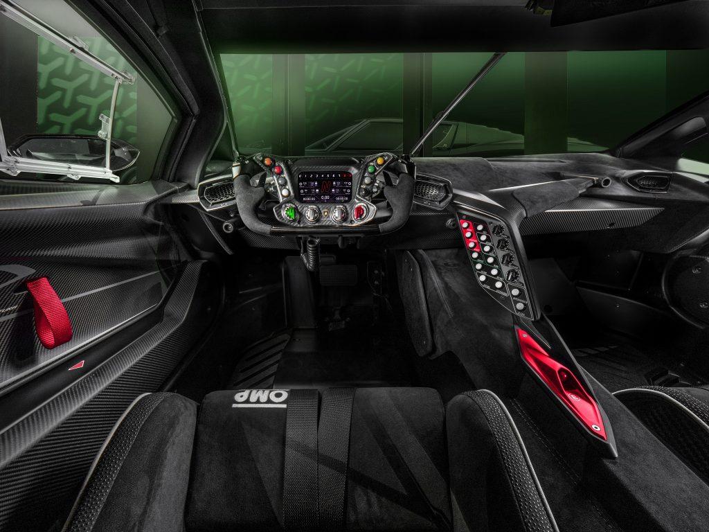 Lamborghini Essenza SCV12, салон