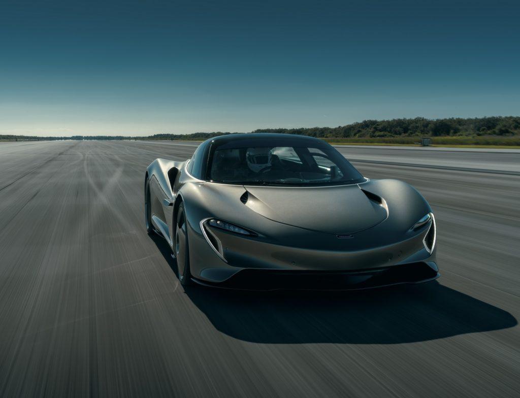 McLaren Speedtail 2020, вид спереди
