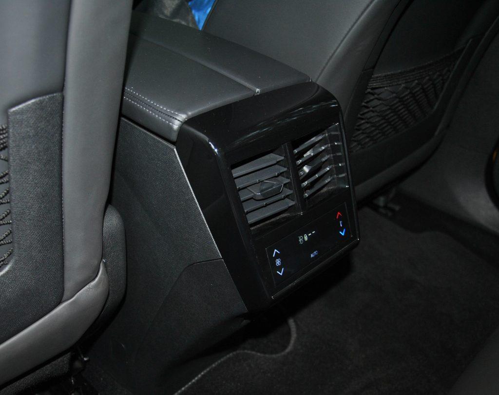 DS7 Crossback, блок климата для задних пассажиров