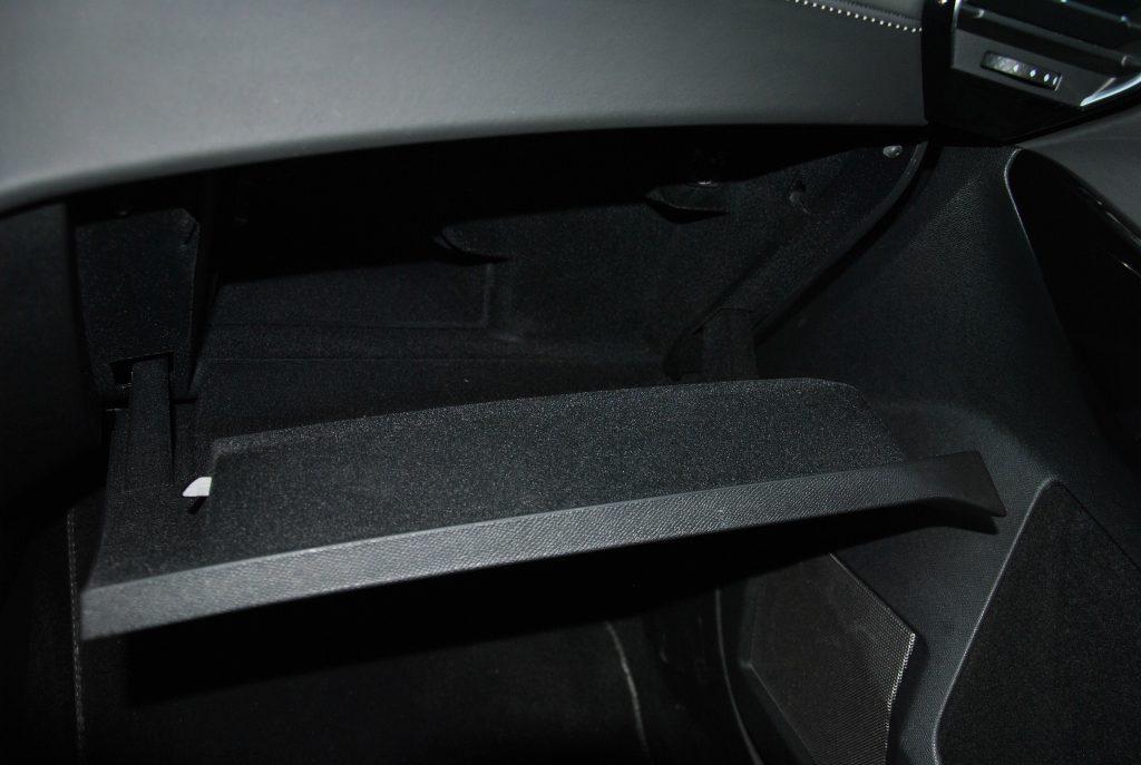 DS7 Crossback, перчаточный ящик