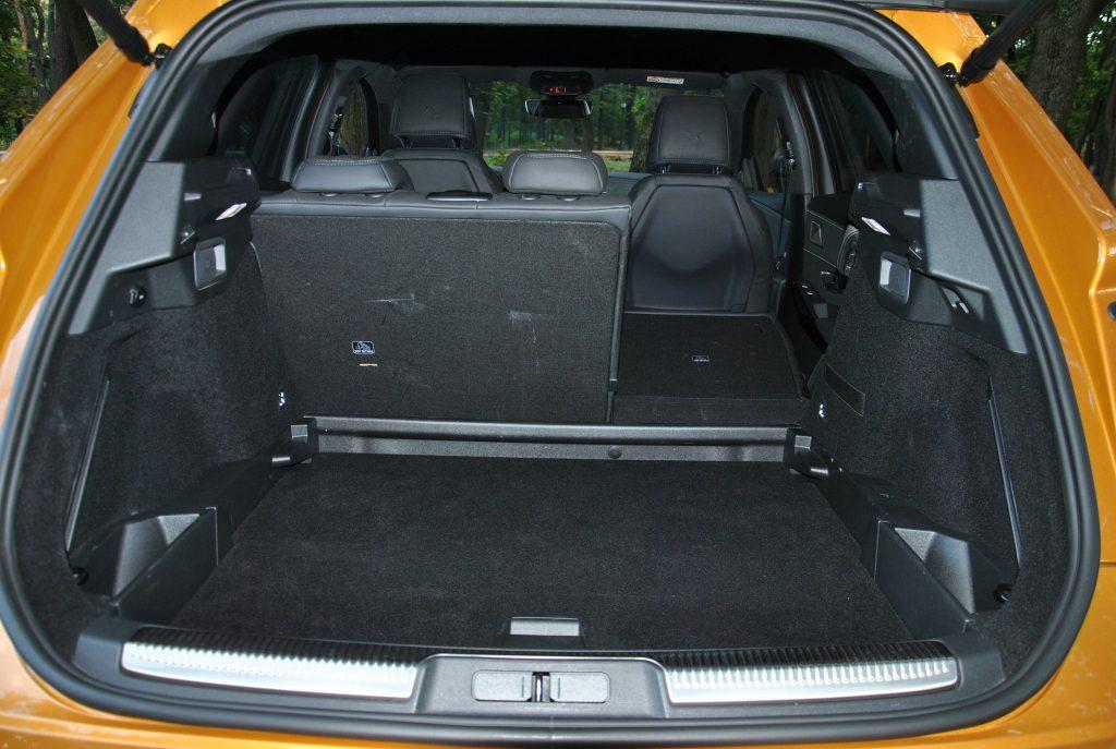Новый DS7 Crossback, багажник