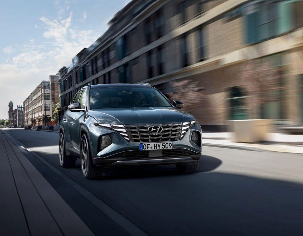 Hyundai Tucson 2020, вид спереди