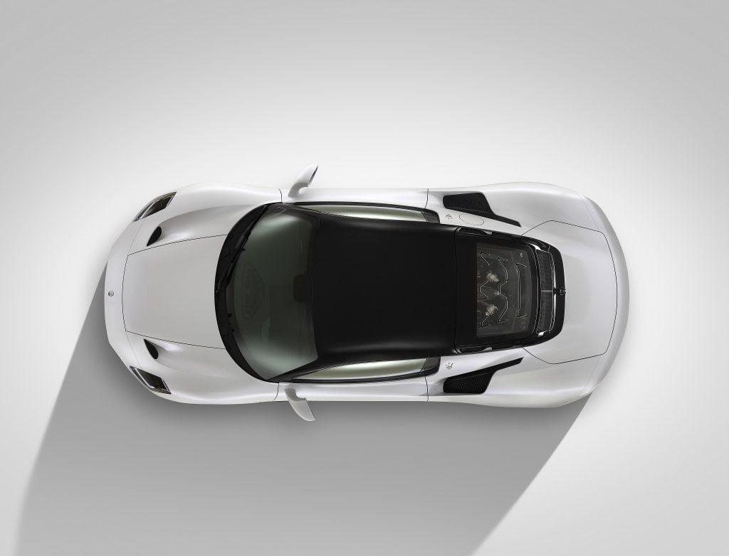 Maserati MC20 2021, вид сверху