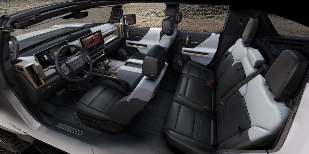 Новый GMC Hummer EV, салон