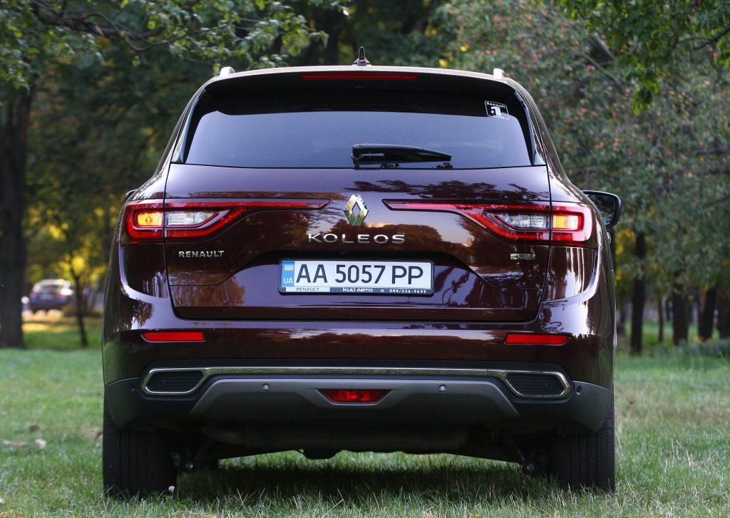 Renault Koleos 2020, вид сзади