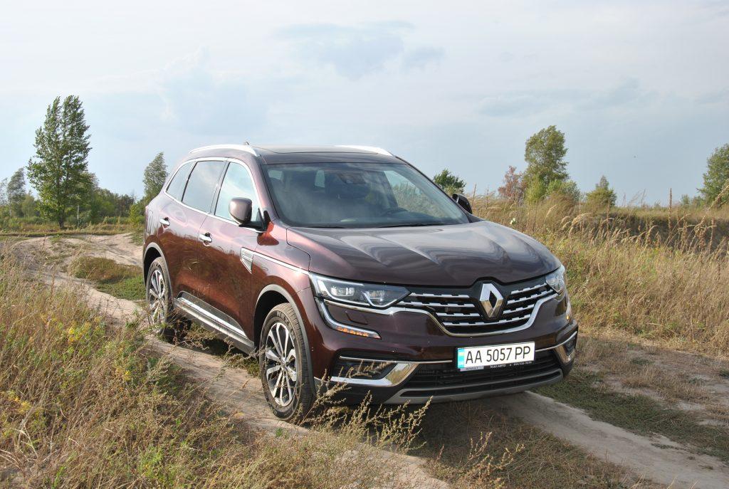 Renault Koleos, бездорожье