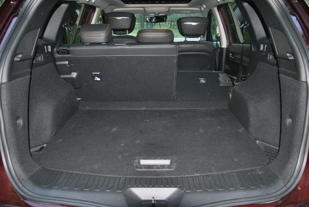 Новый Renault Koleos, багажник