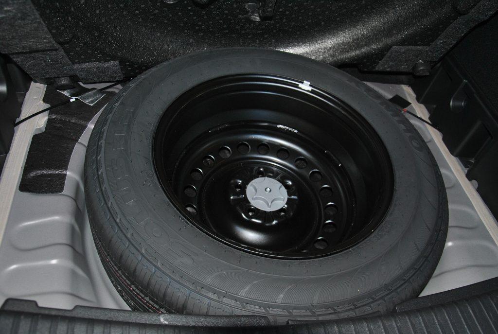 Renault Koleos, запасное колесо
