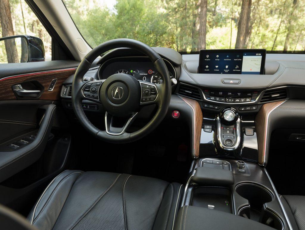 Acura TLX 2020, передняя панель
