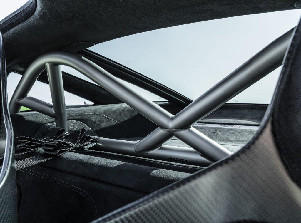 Новый McLaren 765LT 2020, багажник