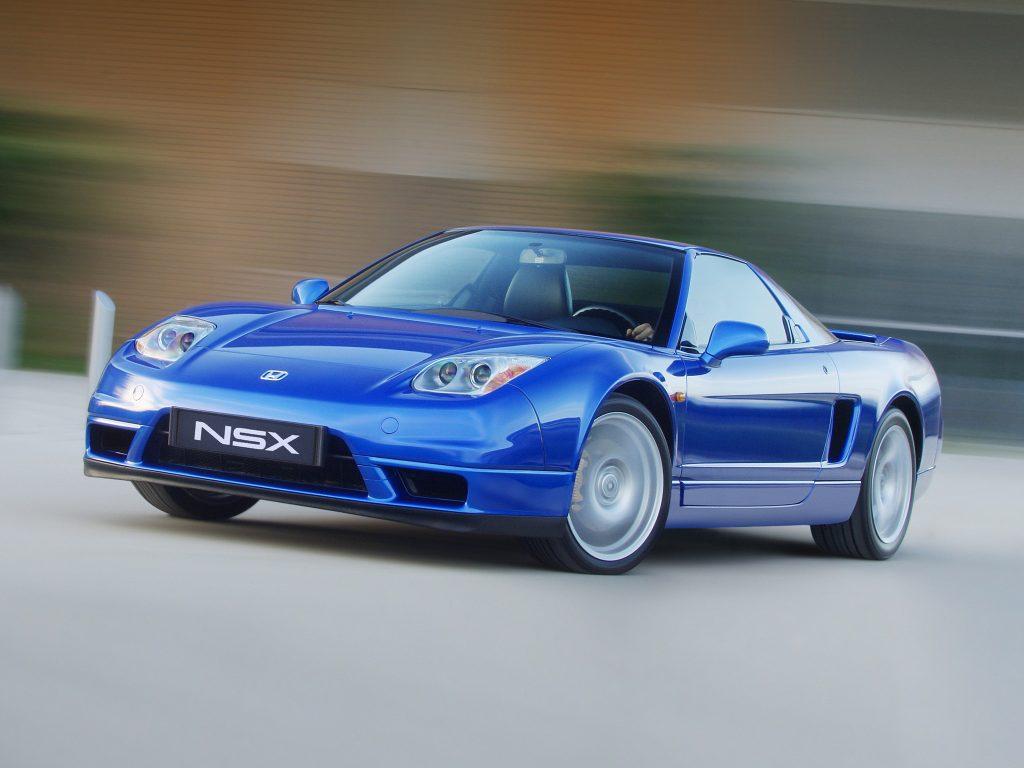 Обновленная Honda NSX 2002 года