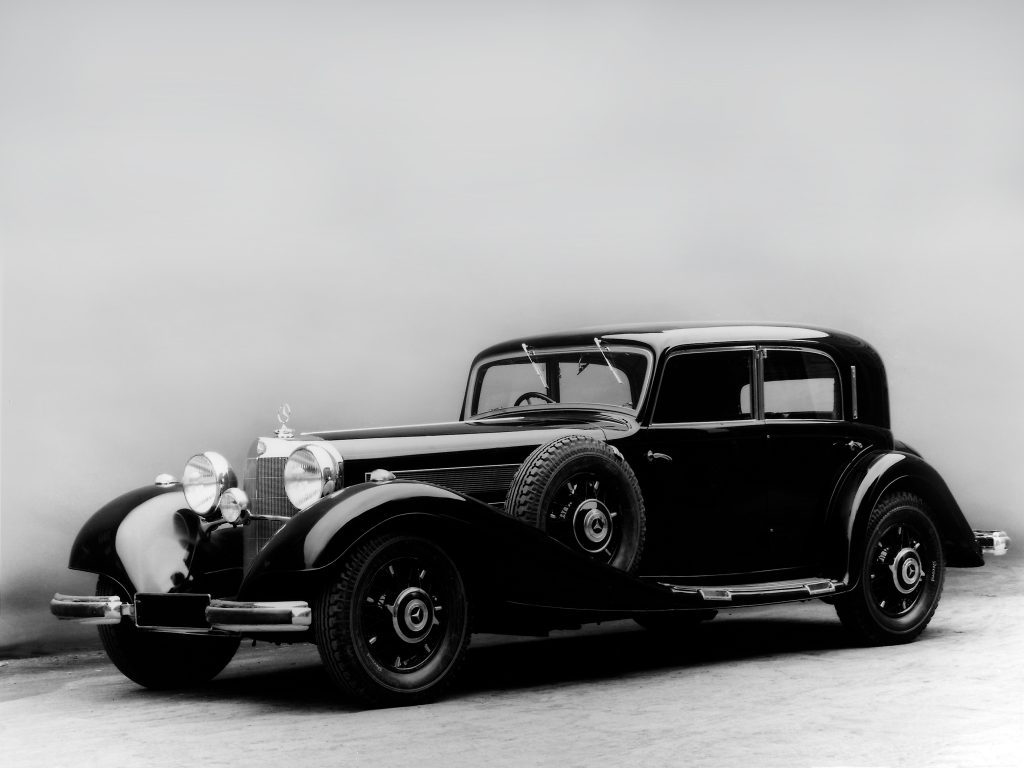 Mercedes-Benz 500 K Limousine 1936 года