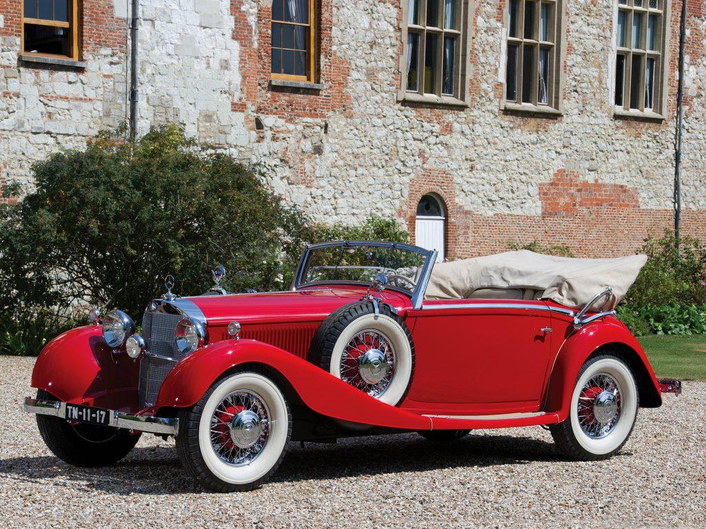 Mercedes-Benz 380 K 1934 года