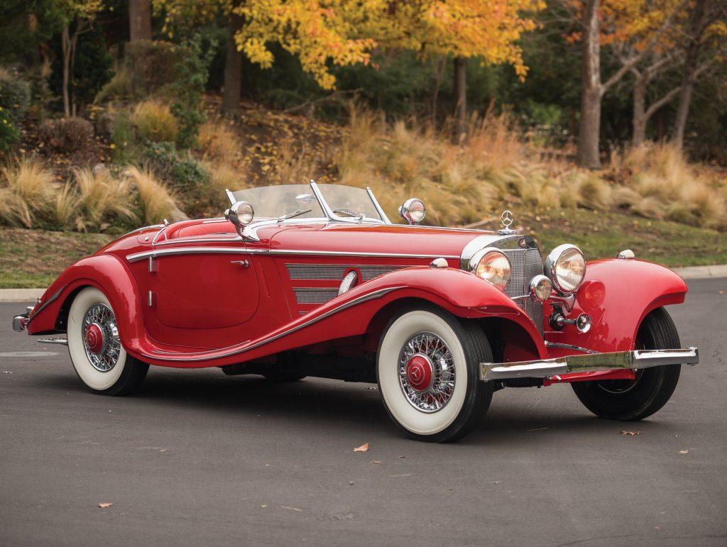Mercedes-Benz 540 K Roadster 1937 года