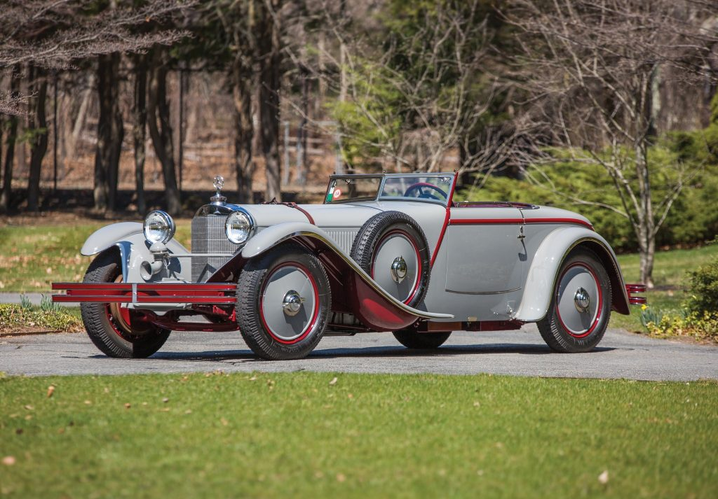 Mercedes-Benz 680 S Torpedo Roadster 1928 года