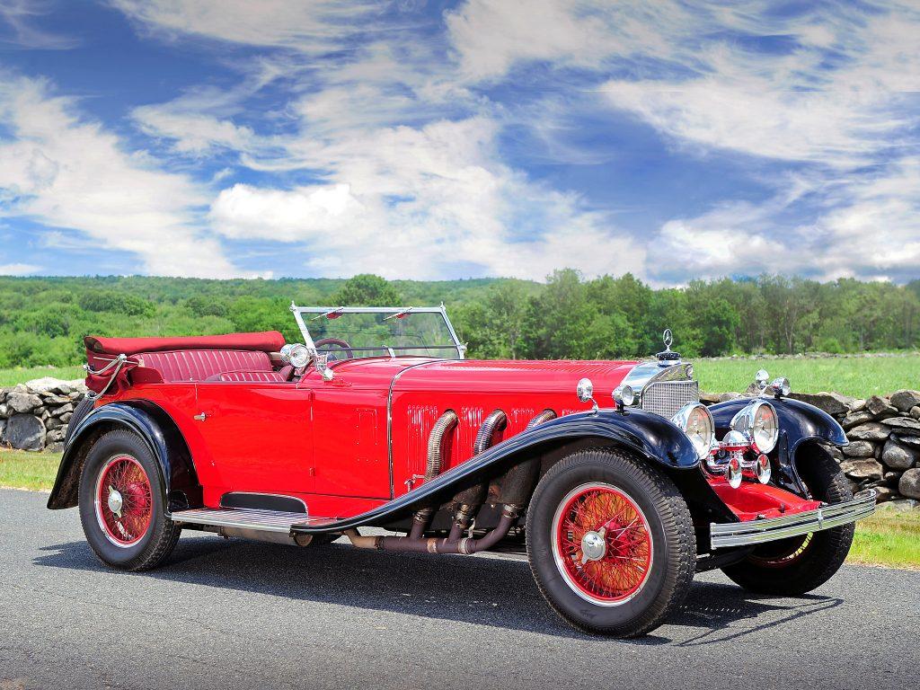 Mercedes-Benz 700 SS 1928 года