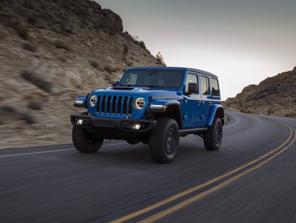 Jeep Wrangler Rubicon 392, вид спереди