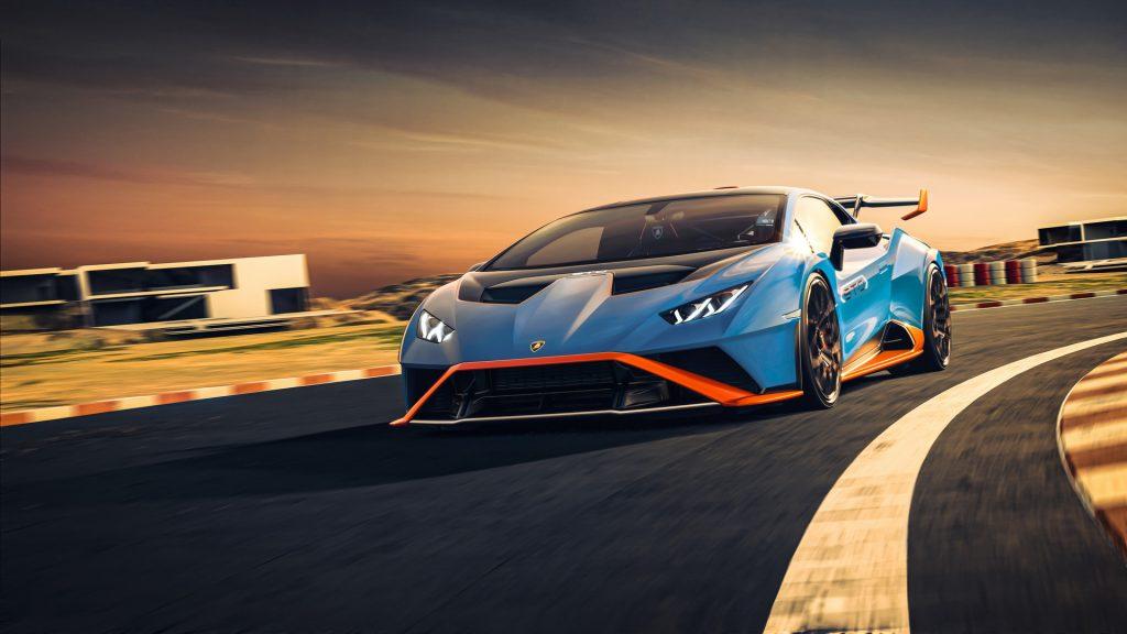 Lamborghini Huracan STO 2021, вид спереди