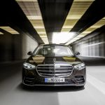 Mercedes-Benz S-Klasse, Plug-in-Hybrid, 2020, Outdoor, Fahraufnahme, Exterieur: Onyxschwarz   Mercedes-Benz S-Class, plug-in hybrid, 2020, outdoor, driving shot, exterior: onyx black