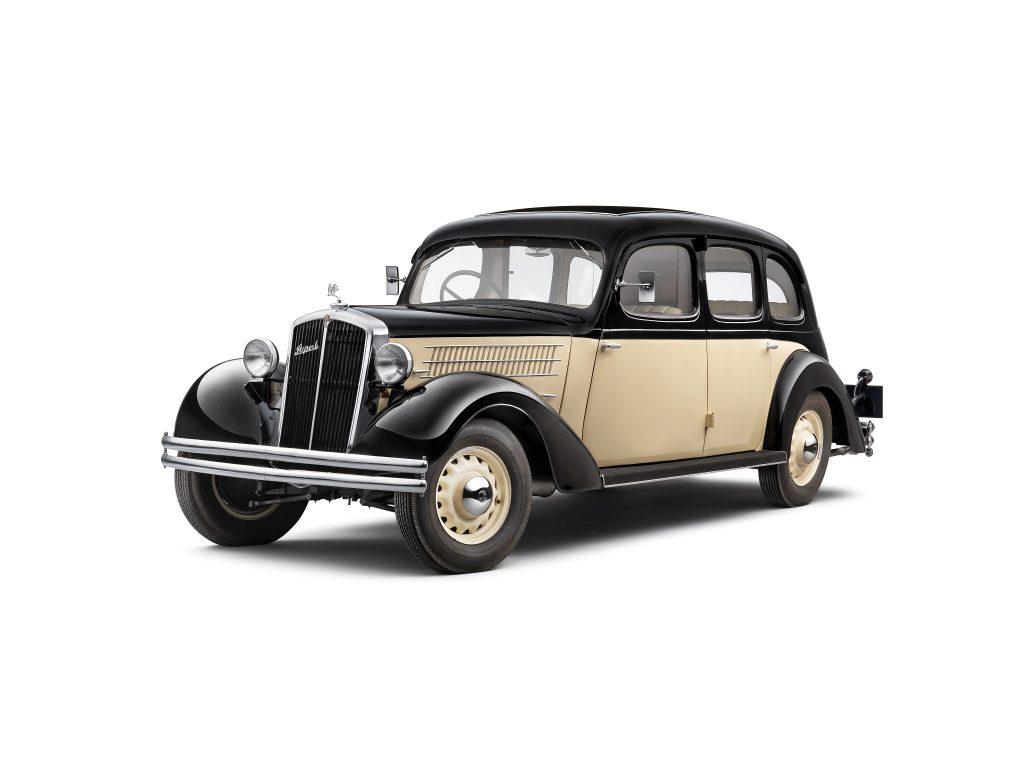 Škoda Superb 1934 года